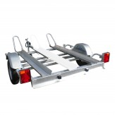 Porte moto 39420 Lider 2 rails
