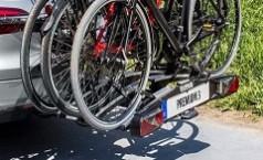 Porte-vélos pour attelage