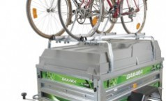 Porte-vélos pour barres de toit