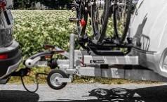 Porte-vélos sur flèche